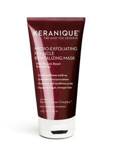 NIB Keranique Micro-Exfoliating Follicle Revitalizing Mask 4 oz