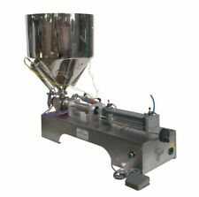 100-1000ml Paste Liquid Heating Filling Machine 110V with 1 Nozzle for Honey Hot