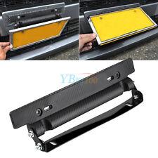 1PC Auto Car ABS Number License Plate Frame Holder Bracket Adjustable for DIY