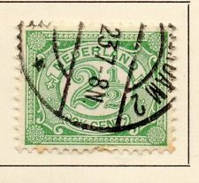 Países Bajos 1898-99 rápida de los problemas Fine Used 2.5 C. 149306