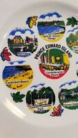"Vtg Prince Edward Island travel souvenir plate 9"" Canada"