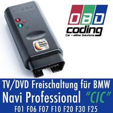 OBD TV/DVD Freischaltung VIM für BMW Navigation Professional CIC F-Serie