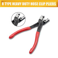 Car Water Pipe Fuel Hose Installer Remover Removal R Type Clip Clamp Plier Tool