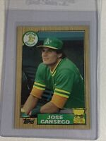 1987 Topps Jose Canseco RC #620