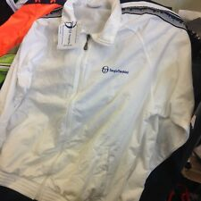 SERGIO TACCHINI Giacche Poliestere Giacche vintage in piccola Med Large White £ 25