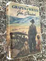 The Grapes of Wrath, John Steinbeck 1940 First Edition w/Original Dust Jacket