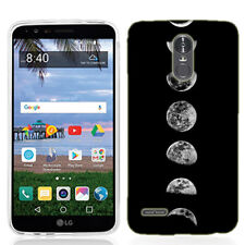 For LG Stylo 3 PLUS Transition Moon Case Skin Cover