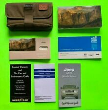2006 Jeep GRAND CHEROKEE Factory Owner Manual Set & Case *OEM*