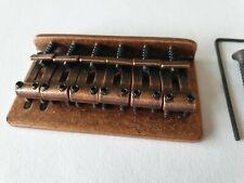 Stratocaster Telecaster vintage guitar hardtail bridge relic aged antique bronze