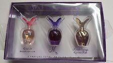 Mariah Carey women  mini Set  3PC perfume Gold, M , Luscious Pink DEE DETAIL