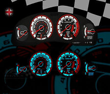 NISSAN 300ZX Turbo Speedo clock interior dash dial gauge upgrade lighting kit