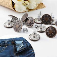 Boutons de jeans pour la couture
