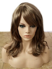 Forever Young Glow Girl Wig (Color 8/22 Ash Blonde Brown) Curly Wavy Bangs