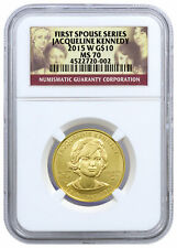2015-W Jacqueline Kennedy First Spouse Gold NGC MS70 SKU45356