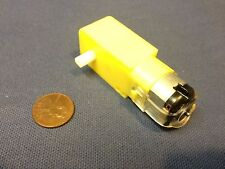 6V DC 160mA 100RPM Dual Shaft Car Toy Reduced Gear Motor Yellow c13