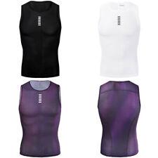 YKYWBIKE Mens Cycling Gilet Bike Vest Mesh Fabric Back Sleeveless Breathable