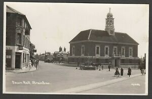Postcard Braintree nr Witham Essex the Town Hall RP