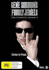Gene Simmons' Family Jewels : Season 5 (DVD, 2011, 3-Disc Set)-FREE POSTAGE