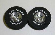 "Pro Track 3/32"" x 1"" x .300"" wd. ""TQ Custom"" Drag 1/24 Slot Car Tire"
