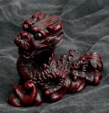 Beautiful Little Resin Dragon Figurine, Very Good Condition, Great Color