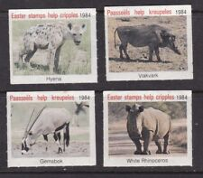 South Africa 1984 Easter Stamps help Cripples set of 4 MNH VGC