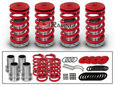 RED COILOVER LOWERING COIL SPRINGS KIT FOR 97-01 Honda Prelude Coupe