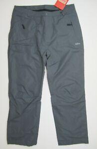 Clothin Snow Ski Winter Fleece Lined Softshell Pants Grey 3XL (38 Waist)
