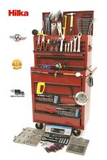 Hilka 14 drawer Tool chest BB with 269 Piece Tool Kit included HD! Roller Cab