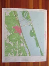 Fort Pierce Florida 1960 Original Vintage USGS Topo Map