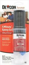 NEW DEVCON 21045 S210 FRESH 2 PART 5 MINUTE GEL EPOXY GLUE WATERPROOF ADHESIVE