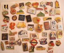 PINS LOT DE 50 PIN'S VINTAGE THEMES DIVERS MISCELLANEOUS BADGES wxc cag g/8