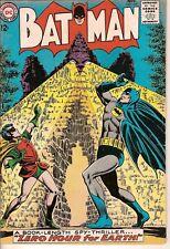 "Batman #167 FN Infantino, Anderson, Moldoff, Batman, Robin ""Zero Hour for Earth"""