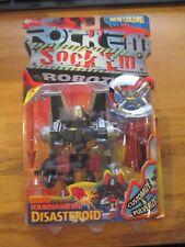 Rock Em Sock Em Robots Robo Tournament Disasteroid 2001 Mattel w Free ship!