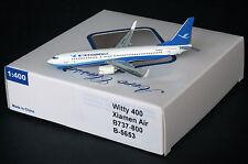 Xiamen Airlines B737-800 Reg: B-5653    Scale 1:400 Diecast Models