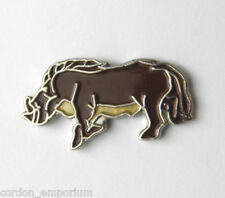 WILD BOAR PIG ANIMAL LAPEL PIN BADGE 3/4 INCH