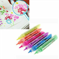Magic Popcorn Pen - Magic Colour DIY Bubble Popcorn Drawing Pens 6 PCS