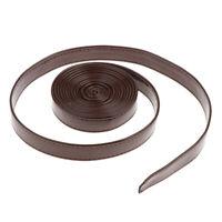 3 Meter Lederband Flach 20mm Breite Lederriemen Lederbänder für DIY Dekor 1#