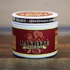 LAYRITE SUPER SHINE HAIR CREAM POMADE BRILLANTINA POMATA PER CAPELLI GEL CERA
