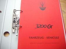 Werkstatthandbuch  MASERATI  3200 GT deutsch francais