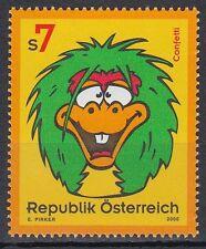 Österreich Austria 2000 ** Mi.2317 Kinderfernsehen Comics TV Children