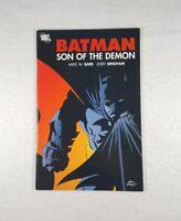 DC Comics Batman Son Of The Demon (2006) - Barr & Bingham - Free Shipping!