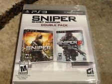 Sniper ghost warrior double pack Sony PlayStation 3 Rare