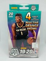 Panini 2019-20 Mosaic NBA Basketball Trading Cards, Hanger Box - 20 Cards