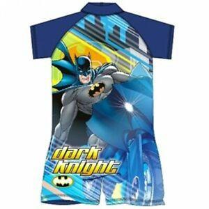 Boys Batman UV Swimming  Swimsuit Sunsafe Surf Suit Swimwear Age 2-3 Yrs