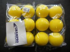 Champro Sports 2 Pack Official Yellow Rubber Lacrosse Balls (Lbgo)