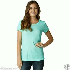 $32 Fox Racing Women's Backbiter Short-Sleeve T-Shirt – Sea Spray sz S