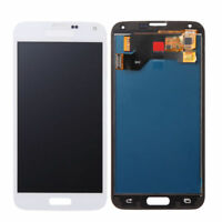 For Samsung Galaxy S5 G900 i9600 SM-G900F White LCD Display Touch Screen