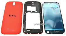 Genuine OEM HTC One SV Full Housing Case Frame Battery Door Cover Camera Lens