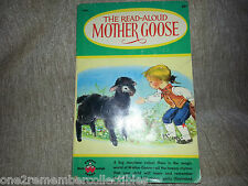 THE READ ALOUD MOTHER GOOSE Poems 1957 CHILDRENS BOOK Vintage NURSERY RHYMES