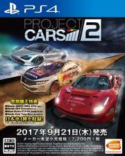 Bandai Namco Project Cars 2 SONY PS4 PLAYSTATION 4 JAPANESE VERSION region free
